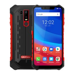 "ip68 mobile phone Promo Codes - Ulefone Armor 6 IP68 Waterproof Mobile Phone Helio P60 6GB+128GB 6.2"" 19:9 FHD+ 5000mAh Android 8.1 Smartphone NFC Face Unlock"