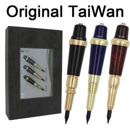 g pen pro Rebajas Pro Original Taiwan G-9410 El maquillaje permanente cejas tatuaje de la máquina de la pluma siempre Maquillaje GS Microblading kit de tatuaje con agujas