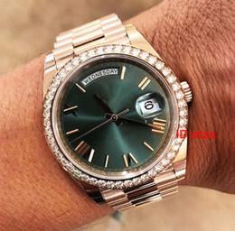 orologi del diamante di ginevra del mens Sconti Diamanti vendita calda dei nuovi uomini di Acciaio Cinturino Ginevra lusso del Mens 2183 della vigilanza di modo di qualità automatico Reloj Orologi da polso