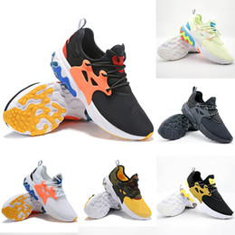 Nike shoes Top Quality React Presto triple chaussures de course noires pour hommes femmes Rabid Panda Brutal Honey formateur mens Breezy jeudi baskets de sport ? partir de fabricateur