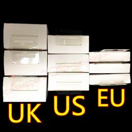 2019 uk eu plug Caricabatterie da muro di alta qualità 5W 5 V 1A US EU UK Plug USB Adattatore di corrente CA Adattatore caricatore da muro ricarica A1385 A1400 A1399 Con scatola al minuto sconti uk eu plug