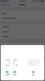 Animação Mostrando Chip H1 Supercopiado Bluetooth Fone de Ouvido Duplo Para Airpods Fone de Ouvido Touch Control de Voz Top Qualidade de Som Bateria de Alto Nível de