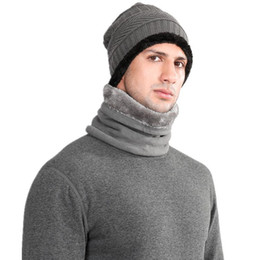 máscara de esqui grossa Desconto 4 Cores Unisex Inverno Quente Ao Ar Livre Mais de Veludo Pescoço Macho Warmer Snood Ciclismo Cachecóis Homens Bufanda Esqui Bicicleta Cachecol Máscara Facial DH0225