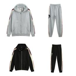 os homens fecham acima o hoodie Desconto 19ss gucci tracksuit  Itália Designers de Moda Brands New MOLETOM ZIP-UP COM Hoodies Sweatshirts, roupas homem g77 dos homens do logotipo LISTRA