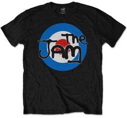 THE JAM 'T-SHIRT Encre SOFT HAND' Target Logo '- Tee shirt couleur imprimée juré ? partir de fabricateur
