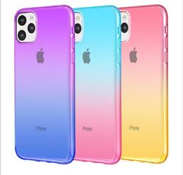 2019 NEU Anti-Klopf-weiche TPU transparente freie Telefon-Kasten-Abdeckung Stoß- Taschen für iPhone 11 pro max 7 8 plus X Protect von Fabrikanten