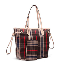 dark brown handbags Promo Codes - Old Cobbler Never Fu ll Upgraded version Cosmetic Bag classic handbag High-quality Coated canvas single shoulder bag fashion Mother bags