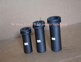 Rame 1kg online-Crogiolo di grafite per forno Strumento di fusione in rame argentato oro 1kg / 2kg / 3kg