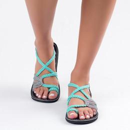 3f1f2151e7f Discount green cross men sandals - Oeak Women Beach Outdoor Sandals  Breathable Wearable Slippers Flip-