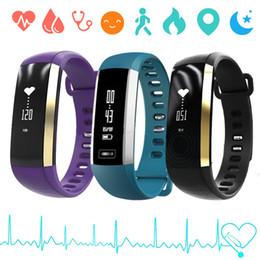 счетчик импульсов часов Скидка Смарт-браслет сердечного ритма часы артериального давления пульс метр браслет фитнес часы для iOS Android SGA998