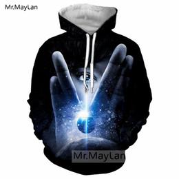 2019 coole jungs-sweatshirts Coole Film Star Trek: Discovery 3D Print Jacke Frauen / Männer Hip Hop Pullover Streetwear Hoodie Jungen Sweatshirts Mann Trainingsanzüge 6XL günstig coole jungs-sweatshirts