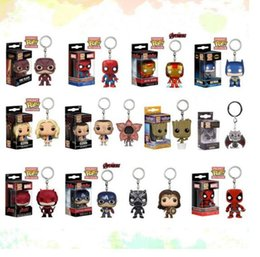 capitão cracas Desconto Funko pop marvel super os vingadores hero harley quinn deadpool goku harry potter spiderman joker jogo dos tronos estatuetas de brinquedo chaveiro