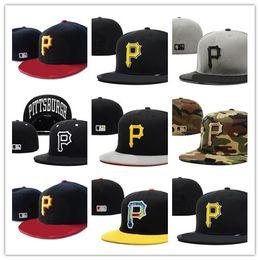 p cap snapback Скидка Новый Дизайн Pittsburgh Dallas Cowboys Street Fit Модная Шляпа P Буквы Snapback Cap Мужчины Женщины Баскетбол Хип Поп