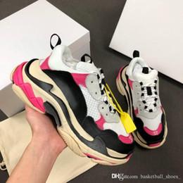 chaussures qinmin123 moda 2,0 triple s marca plataforma sapatos casuais desenhador desporto sapatilhas velhas sapatos Trainers zapatos tamanho 35-45 de