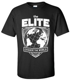 T-shirt ELITE Change the World -XS-5XL Kenny Omega Young Bucks AEW All Wrestling Divertente spedizione gratuita Tshirt Unisex da