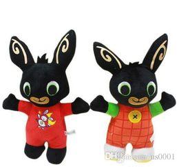 2019 ti nuovi grandi occhi 25cm Bing Bunny Plush Toys Doll stuffed animals Bing Bunny Doll Rabbit Animal Soft Bing's Friends Toy for Children Kids