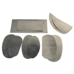 métiers d'art en acier Promotion 10pcs en acier inoxydable Graver Clay Sculpture Céramique Arts Crafts Tools