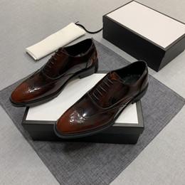 Neue Luxus Designermode Freizeitschuhe für 2019 Mens Leder Business Schuhe sind bequem und atmungsaktiv
