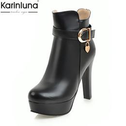 Argentina Karinluna Nuevas llegadas Dropship Nuevo Plataforma Zip Up Botines Zapatos de mujer Tacones altos Zapatos de fiesta Botas de mujer Mujer supplier zip up shoes Suministro