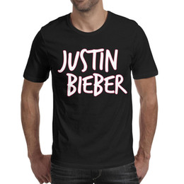 Argentina Justin Bieber Icon Pink 2019 Summer camiseta personalizada para hombres camisetas de moda divertida supplier justin bieber pink t shirt Suministro