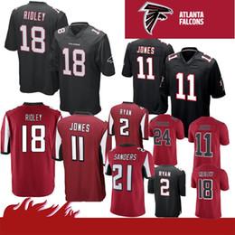 be085a6dd6c julio jones jerseys Promo Codes - Stitched 11 Julio Jones 18 Ridley Falcons  Limited Atlanta Jersey