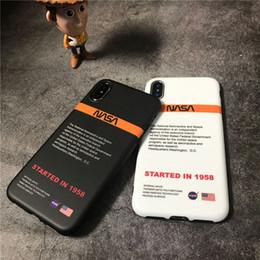 carte de crédit moto Promotion Mode US street tendance astronaute Space Soft étui en silicone pour iPhone 6S 7 6S 7plus 8 8plus X XR XS blanc Max téléphone coque