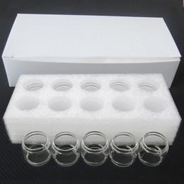 tubi di atomizzatore di vetro di ricambio Sconti Manicotto della sostituzione del tubo 9ML Bulbble del tubo di TFV16 per gli accessori di Ecig del carro armato del vaporizzatore del vaporizzatore TFV 16 DHL libera