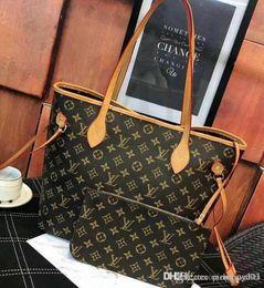 2019 obstbeutel großhandel Berühmte Marke Totes Taschen Luxus Frauen echte Ledertaschen Mode Dame Handtasche Fabrik Großhandel auf Lager Real Image Freies Einkaufen rabatt obstbeutel großhandel