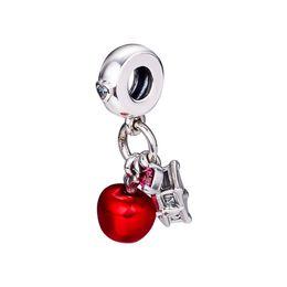 Argentina Christmas Snow white apple encantos S925 plata se adapta para pandora estilo pulsera 797486CZRMX H8 cheap snow white charms Suministro