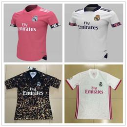 Kit speciale online-20 21 Pink REAL MADRID maglie di calcio PERICOLO camisetas de futbol 2020 2021 Capodanno cinese in edizione speciale 4th Concetto Football Kit CAMICIE