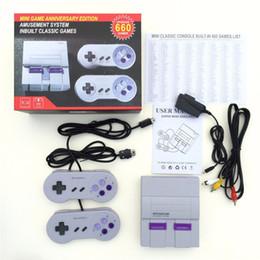 Bonne qualité Super Mini Classique Console de jeux vidéo 400 660 Classique Jeux Rétro Console de jeux pour SFC NES Joueur DHL Livraison gratuite ? partir de fabricateur