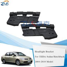 Bumper Bracket For 2005-2006 Nissan Altima Set of 2 Front Left /& Right Side