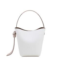 borse coreane Sconti Cuoio casuale del pacchetto del crossbody della donna del cuoio genuino nuovo modello di modo borsa concisa della borsa a tracolla della borsa a tracolla di Bill della mano della borsa di stile coreano