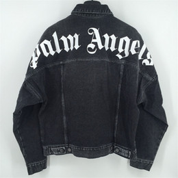 Mejor abrigo de calidad online-Palma Ángeles dril de algodón de la chaqueta de las mujeres de moda más MenStreetwear pierde calidad de Palm Ángeles abrigo abrigos Chaquetas
