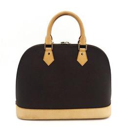 Бесплатная Доставка! ALMA BB Shell сумка Высокое качество кожаные сумки на ремне Классический Damier Женщины Известный Бренд дизайнер Сумки проверить сумку M53151 от Поставщики альма бб