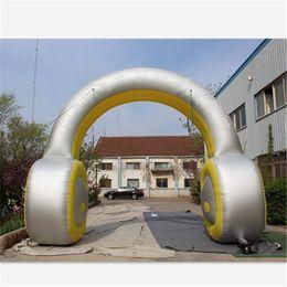 Arco de entrada on-line-Arco inflável do fone de ouvido inflável Arco inflável do fone de ouvido inflável de venda quente