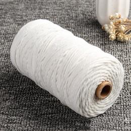 Artesanato de Cordas Knitting tapeçaria do algodão Macrame Tapeçaria Corda artesanal cortina DIY longo Artisan trançado de Fornecedores de saco da mamã ajustado