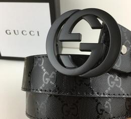4b13629ce gucci belt 2019 - 2017 fashion man Big buckle designer belts men high  quality mens belts