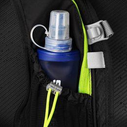 2019 bottiglia piegata Bottiglie da viaggio Bollitore Correre all'aperto Ciclismo Accessori per bicchieri 250 / 500mL Flacone portatile pieghevole in silicone bottiglia piegata economici