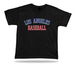 2019 blaues baseball t-stück Los Angeles BASEBALL T-Shirt T-Stück rotes weißes blaues Gold LA CA-Sommerkleidfeld-Furcht cosplay liverpoott T-Shirt günstig blaues baseball t-stück