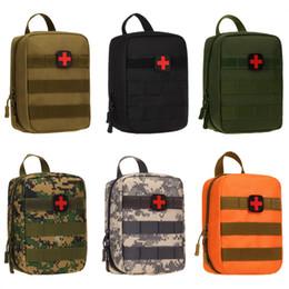 Kit de premiers secours médical en plein air d'urgence Kits Sac Camouflage Taille Pack Randonnée Escalade Camping Voyage Tactique EDC Molle Pouch ? partir de fabricateur