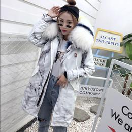 Cool 2019 Send Overcome Woman Pattern Fox Mao Neidan Piel y mapache Abrigo de lana Abrigo Largo Fondo Sombrero uniforme desde fabricantes