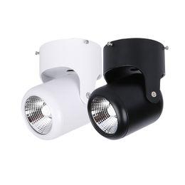 Canada Allato Lighting Projecteur monté en surface à LED 7W CRI90 + 2700K 3000K 4000K 6000K Ampoule de montage de plafond de cardan Downlight Downlight 110V 220V Offre