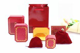 Caixa de jóias de alta qualidade caixa de amor C logotipo da marca de Fornecedores de caixas de jóias por atacado