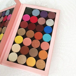 eyeshadow palette 28 Coupons - New Ky Cosmetics Makeup Palettes Magnetic Kylie Empty Large Pro Palette 28 colors kylie jenner Eyeshadow Palette Eyeshadow Palettes