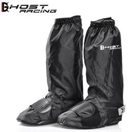 Moto pioggia scarpe impermeabili coperture strettezza registrabile riutilizzabili impermeabile antiscivolo pioggia Scarpe Nero Stivali copertina da