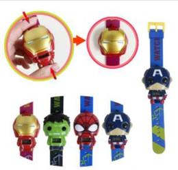 Canada Enfants Avengers de déformation montres 2019 Nouveaux enfants Superhero film de bande dessinée Captain America Iron Man Spiderman Hulk Regarder jouets Offre