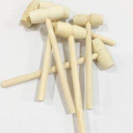 bater brinquedos de madeira Desconto Mini Martelo de madeira Batendo Planeta Bolo Pequeno Pequeno De Madeira Martelo Crianças Jato de Brinquedo Cabeça Leve Transporte Rápido F3175