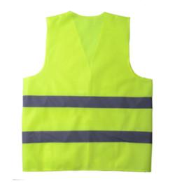 Горячая Мужская Светоотражающий Жилет Спецодежда Высокая Видимость День Ночь Работает Цикл Предупреждение Зеленый Желтый Строительство Жилет Безопасности от