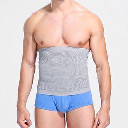 37b11f2943326 New Men Slimming Body Shaper Belly Waist Abdomen Belt Shapewear for Mens  Waist Trainer Band Compression Underwear Elastic Strap